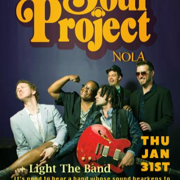 THE SOUL PROJECT (Direct From New Orleans debut) +Light Band-img