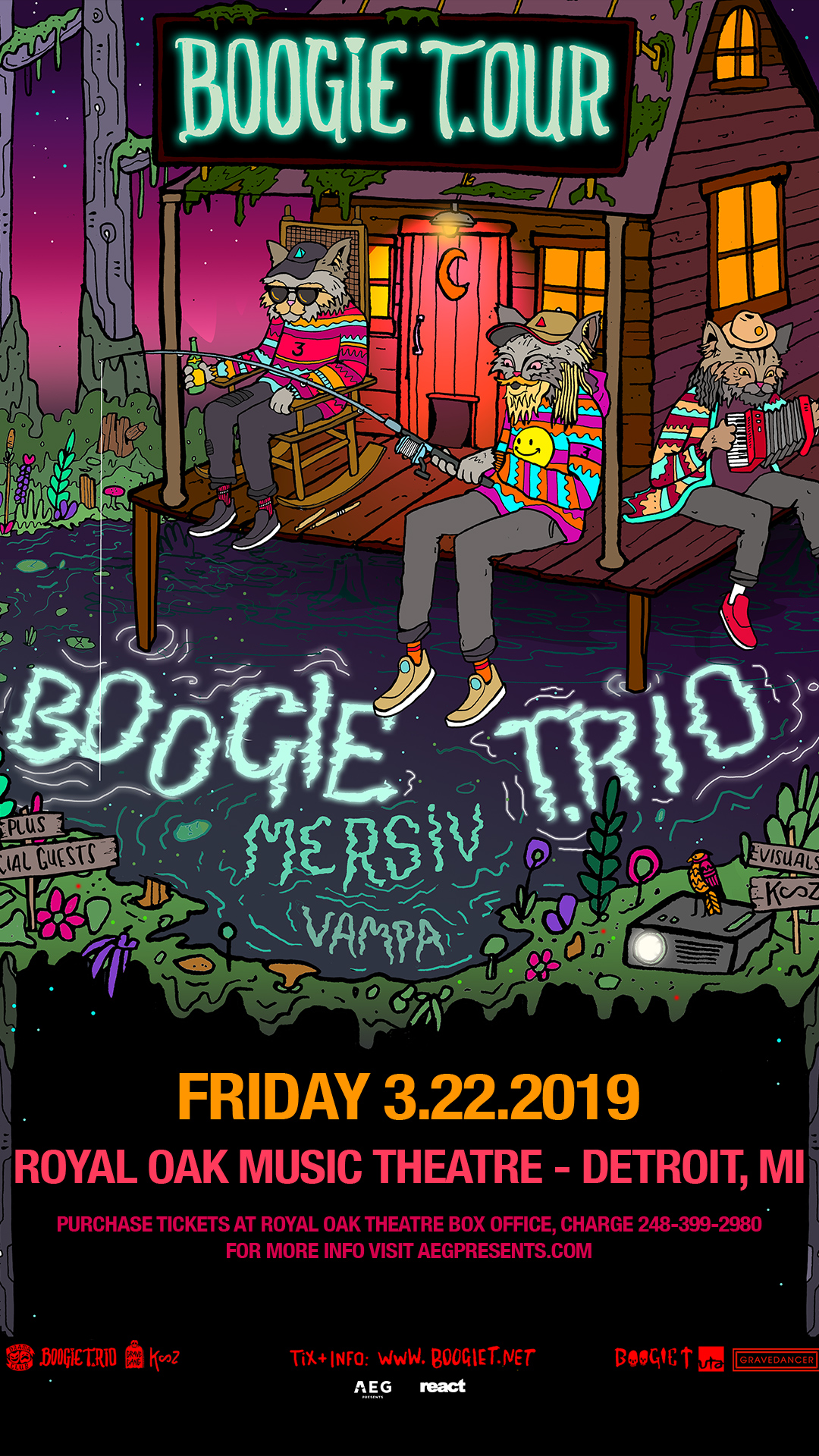 Buy Tickets To Boogie T Live In Royal Oak On Mar 22 2019