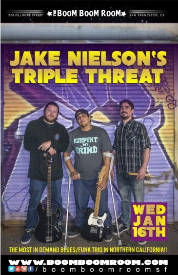 Jake Nielsen's Triple Threat: Main Image