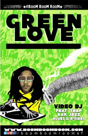 GREEN LOVE  (Soul, Pop, Funk, HipHop, Big Mashup) Freee Show: Main Image