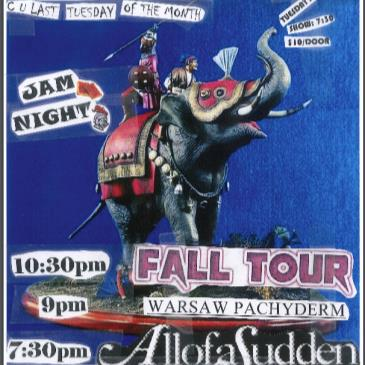 C.U.L.T. -  All Of A Sudden, Fall Tour, Warsaw Pac  (7:30pm)-img