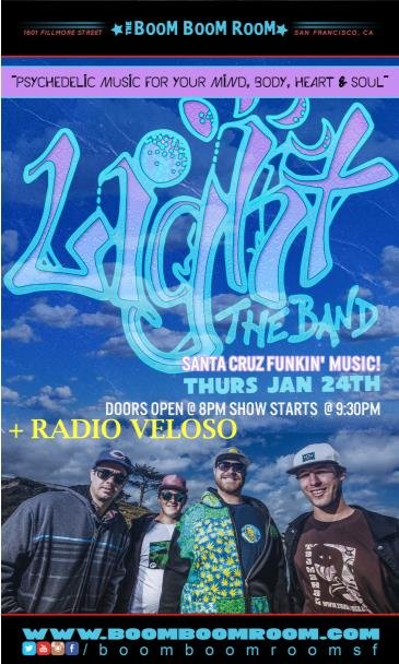 Light the Band + Radio Veloso: Main Image