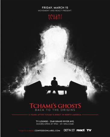 Movement and React present: TCHAMI'S GHOSTS TOUR: Main Image
