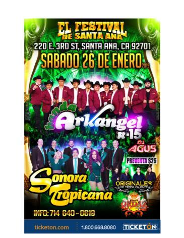 EL FESTIVAL DE SANTA ANA: Main Image