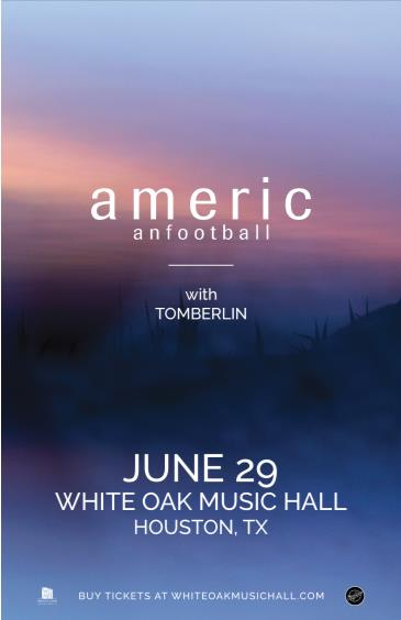 American Football, Tomberlin: Main Image