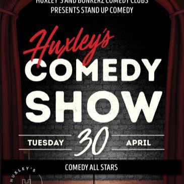BonkerZ Comedy Allstars & Huxley's-img