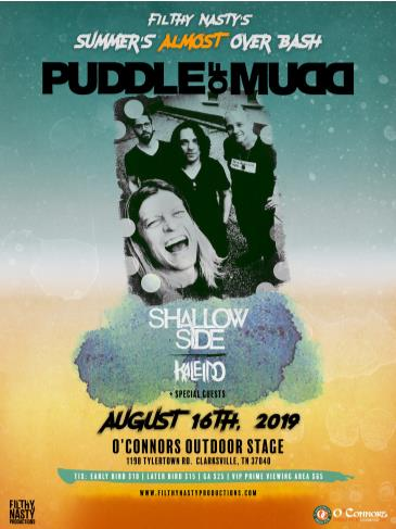 Filthy Nasty's Summer's Almost Over Bash ft. Puddle Of Mudd: Main Image
