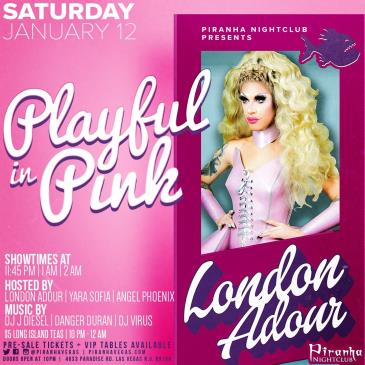 PLAYFUL IN PINK WITH LONDON ADOUR: Main Image