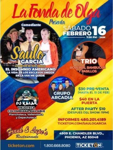 SAULO GARCIA: Main Image