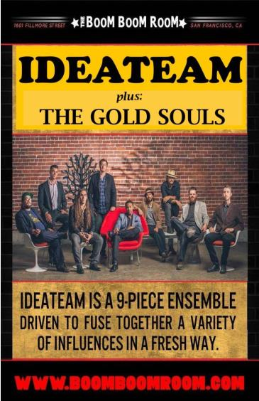 IDEATEAM + The Gold Souls (&  DJ Kevvy Kev): Main Image
