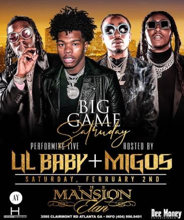 Lil Baby Performing Live hosted by the Migos: Main Image
