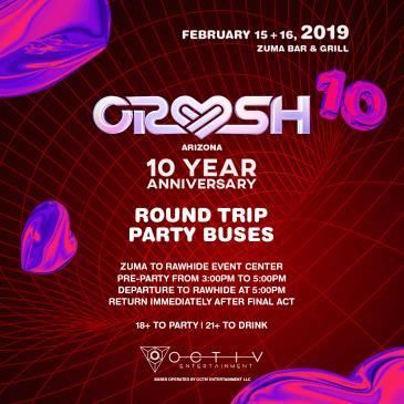 Crush AZ Party Buses: Main Image
