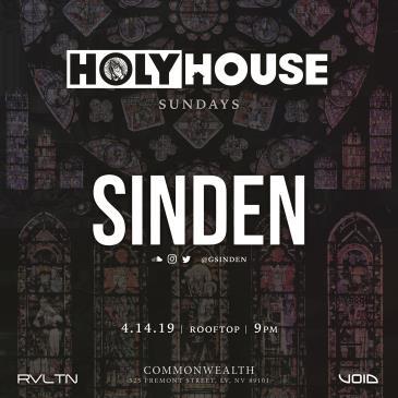 HOLY HOUSE N°9 — Sinden (21+): Main Image