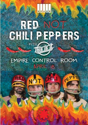 Red Not Chili Peppers w/ This Is It: Main Image