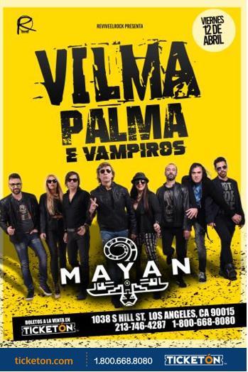 VILAM PALMA E VAMPIROS EN LOS ANGELES: Main Image