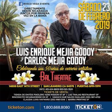 LUIS ENRIQUE Y CARLOS MEJIA GODOY: Main Image