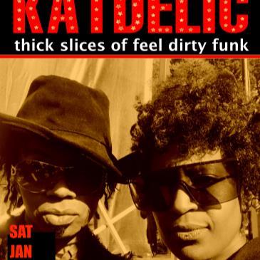 Katdelic  (funk dance party) + Dj Kevvy Kev + star guests-img