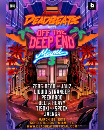 Deadbeat Goes Off The DeepEnd Miami 2019: Main Image