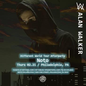 Alan Walker: Different World Tour Afterparty: Main Image