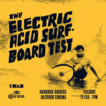 The Electric Acid Surf Board Test & Point Break (2015): Main Image