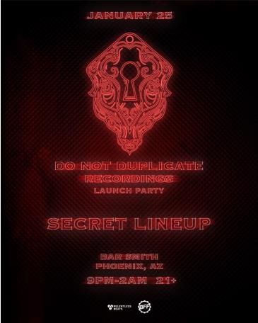 DND Recordings Launch Party: Main Image