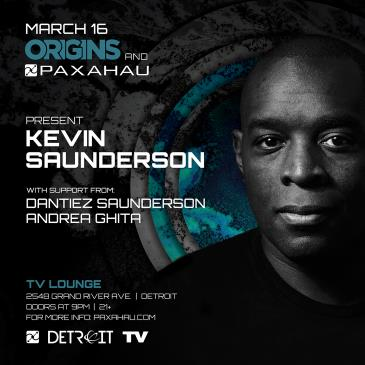 Paxahau and ORIGINS present: Kevin Saunderson - FREE: Main Image