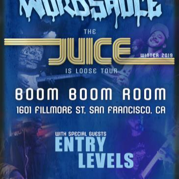 Wordsauce (debut at the Boom Boom Room) + Entry Level-img