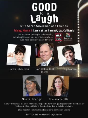 Good for a Laugh with Sarah Silverman and Friends: Main Image