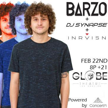FreeFall: Barzo DJ Set + DJ Synapse and DJ INRVISN: Main Image