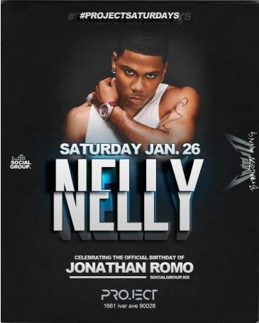 Nelly live at Project in Hollywood: Main Image