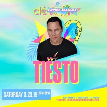 Tiësto - Houston at Cle: Main Image