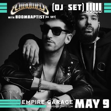 Chromeo (DJ Set) with BoomBaptist (DJ Set): Main Image