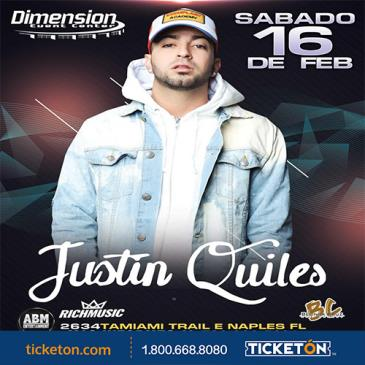 JUSTIN QUILES: Main Image