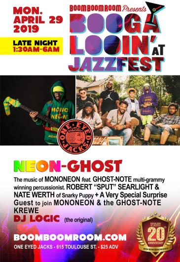 "NEON-GHOST (""The Music of MONONEON feat. GHOST-NOTE"") at OEJ: Main Image"