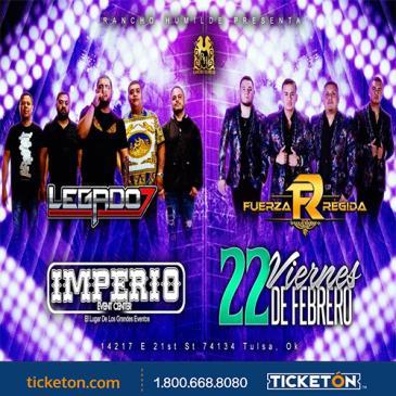 LEGADO 7 & FUERZA REGIDA: Main Image