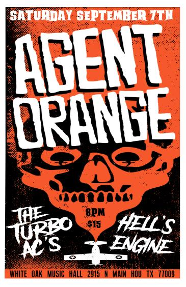 Agent Orange with The Turbo AC's and Hells Engine: Main Image