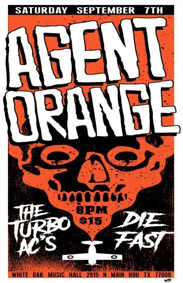 Agent Orange, The Turbo AC's, Die Fast: Main Image