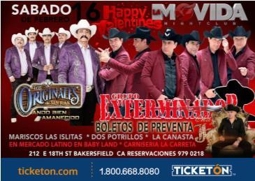 LOS ORIGINALES  Y EXTERMINADOR: Main Image