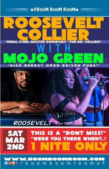 ROOSEVELT COLLIER  w/ MOJO GREEN (first time collaboration): Main Image