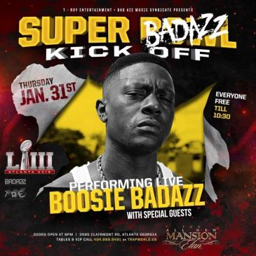 The Big Game weekend with Boosie BadAzz performing Live: Main Image