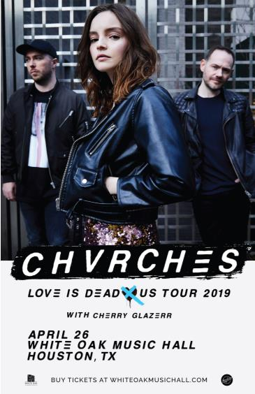 CHVRCHES, Cherry Glazerr: Main Image