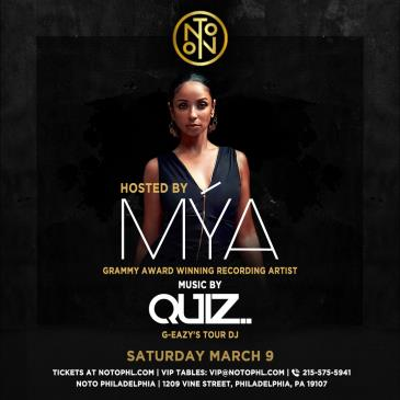 DJ Quiz: Hosted By: Mya: Main Image