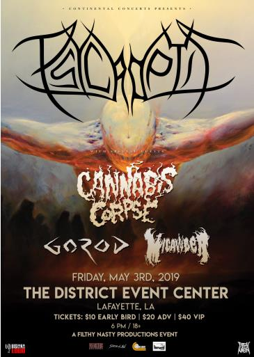 Psycroptic w/ Cannabis Corpse - CANCELLED: Main Image