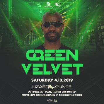 Green Velvet - DALLAS: Main Image