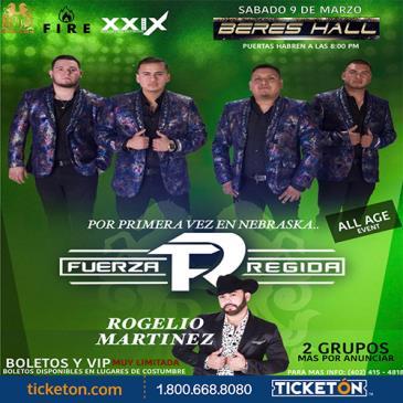 FUERZA REGIDA, ROGELIO MARTINEZ: Main Image