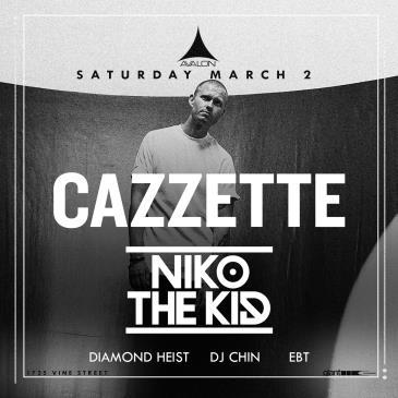Cazzette, Niko The Kid: Main Image