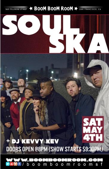 SOUL SKA  (and DJ Kevvy Kev): Main Image