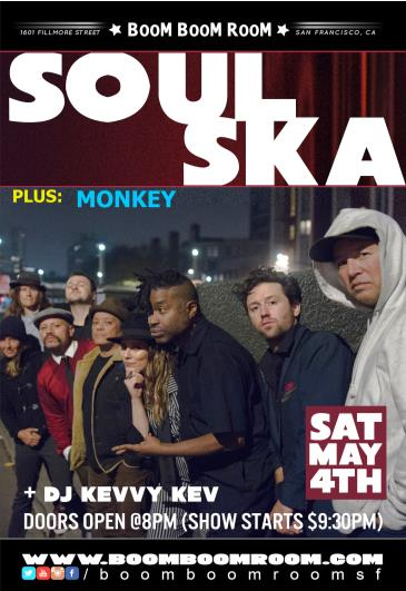 SOUL SKA + ANGELO MOORE [of FISHBONE] & MONKEY: Main Image