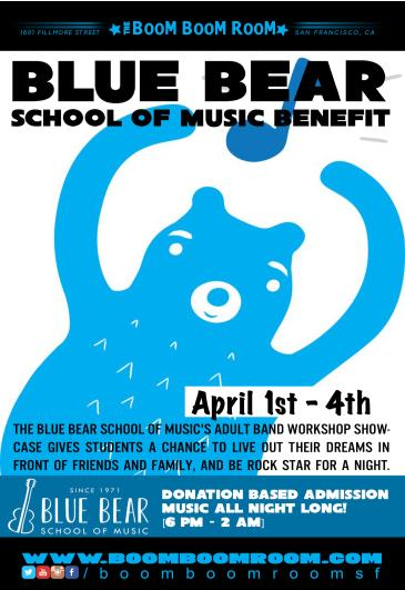Blue Bear School Of Music Benefit: Main Image