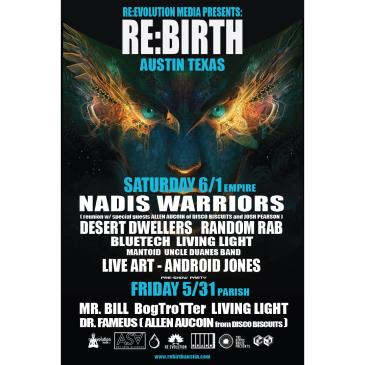 RE:BIRTH ft. Random Rab, Desert Dwellers, Mr. Bill + more!-img